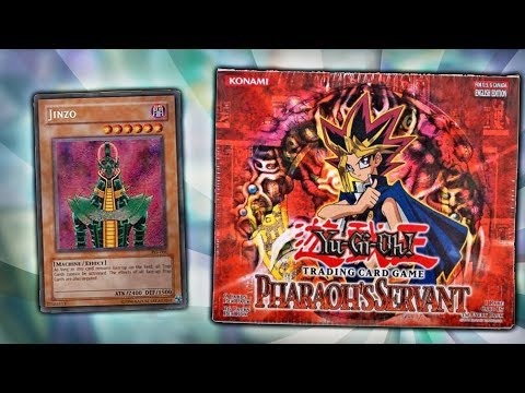 BEST YuGiOh PHARAOH'S SERVANT BOOSTER BOX (ish) OPENING!! BEST OLD SCHOOL PACK OPENING! thumbnail