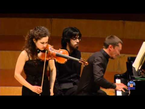 Alma Olite and Denis Lossev play Franck (Sonata en La M - II. Allegro).mp4