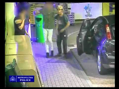 CCTV shows assault of private cab driver in Bexley