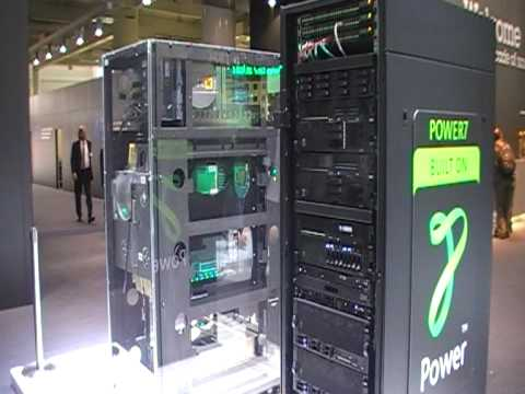 IBM Power7 Server CeBit 2010