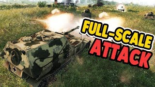 BEST TANK EVER SMASHES DEFENSE | Men of War: Assault Squad 2 Gameplay