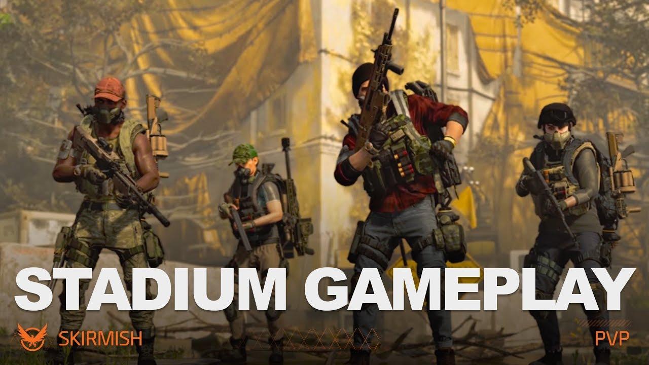 30 03 MB] Stadium - Skirmish Gameplay   Tom Clancy's The