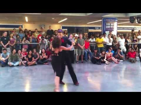 Argentine Tango Show Baila Vancouver Dance School by Nina Perez and Francis Vaillancourt