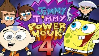 Jimmy Timmy Power Hour 4: BIGGEST NICKTOONS CROSSOVER (SpongeBob, Avatar, Danny Phantom) thumbnail