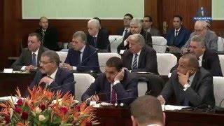 سلال يعرض مشروع الدستور أمام أعضاء اللجنة المشتركة للبرلمان