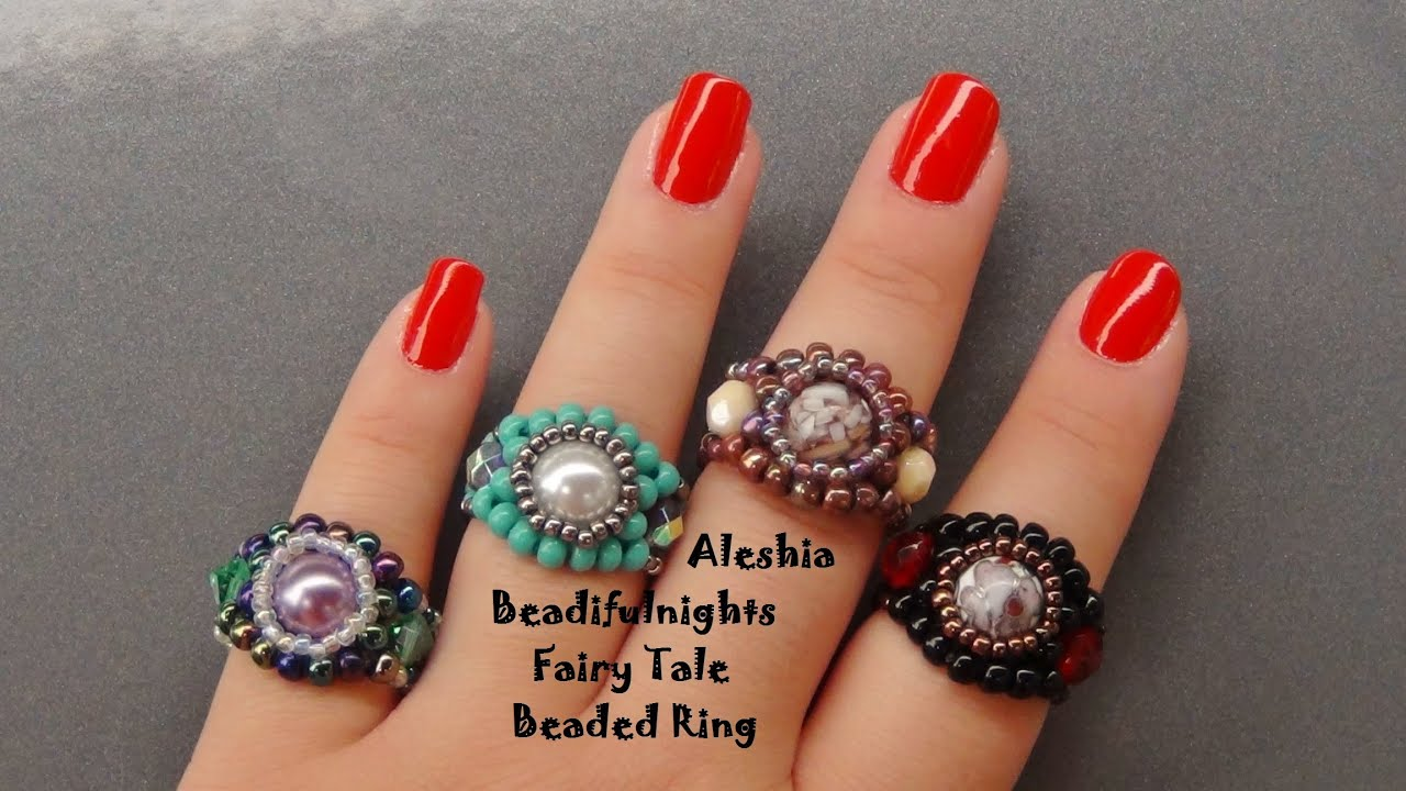 peyote beading r stitch bead for count simple patterns jewelry making pattern ring odd tutorial rings neptunia beaded