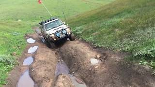 winter mud fun in south australia 76 series landcruiser v8