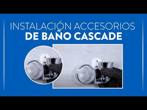 Cómo instalar los accesorios de baño Cascade | Corona
