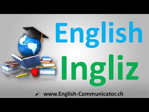 English  Ingliz tilidagi yozuv grammar kurs o'rganish