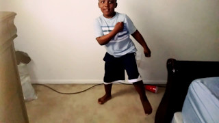 "Lil boy dances to Zay Hilfiger ""juju on that beat"" - Yeyeye"