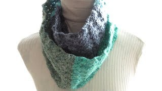 In this video I show you how to crochet my Starburst Infinity Scarf using a starburst/star stitch variation. You can use any yarn and hook size for this project but I recommend using a hook...