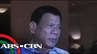 What Duterte wants to do with suspected drug dealer