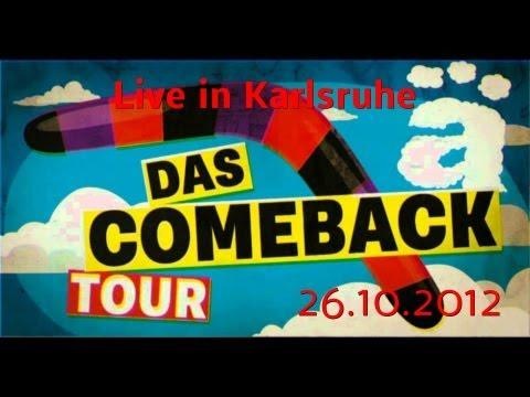 Die Ärzte live in Karlsruhe 26.10.2012