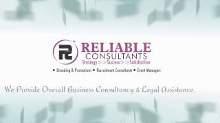 Reliable Consultants Promotional Video