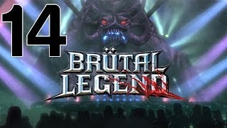 Let's Play Brutal Legend #14 ft. President Mike - Dry Ice, Wet Graves