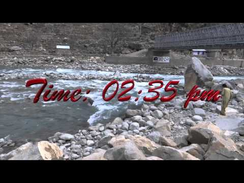Travel Bahrain to Kalam Valley 10 March 2016 SWAT KPK Pakistan with Sony Camera