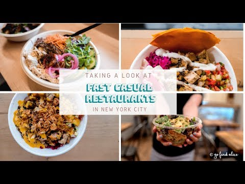Healthy NYC Fast Casual Restaurants | Eating Out & Counting Macros