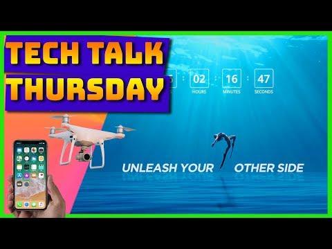 Tech Talk Thursday LIVE // DJI Action Camera // Watch out GoPro!
