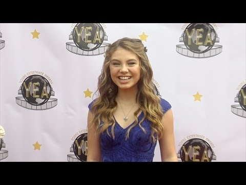 Caitlin Carmichael 2016 Young Entertainer Awards Red Carpet
