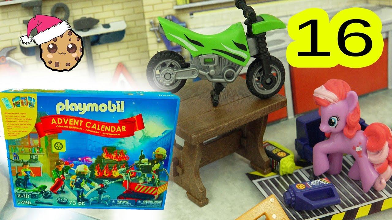 Garage Play Playmobil Holiday Christmas Advent Calendar Toy