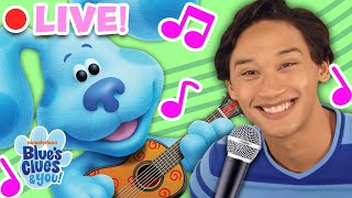 LIVE: Blue's Clues & You Sing Along Songs! | Nursery Rhymes for Kids | Blue's Clues & You!
