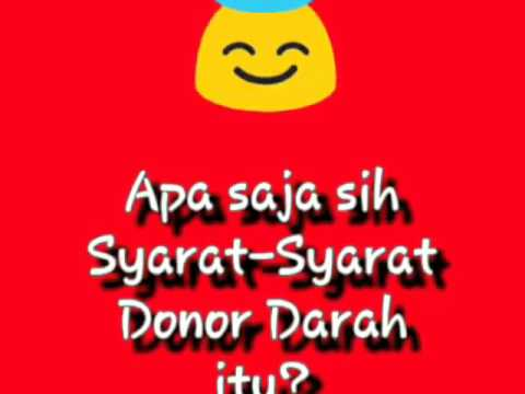Video Materi Donor Darah Youtube