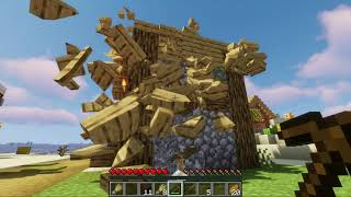 Minecraft , But It Has Realistic Physics | With Oggy And Jack | Rock Indian Gamer |
