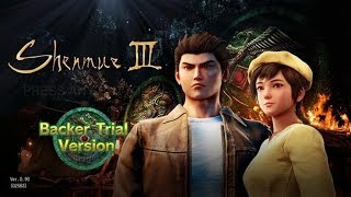 Taking a look at the Shenmue 3 Backer Demo