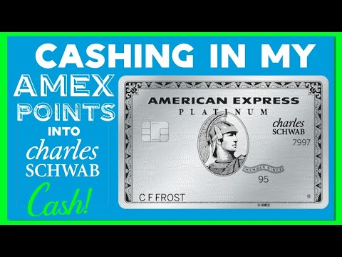 Cashing In My American Express Points Into Charles Schwab Cash
