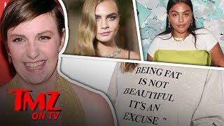 Fat Shaming Sweatshirt Causes Controversy! | TMZ TV