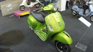 VESPA GTS SUPER 300 I.E. ABS ASR !! GREEN COLOUR VERDE !! WALKAROUND !! MODEL 2017 !!