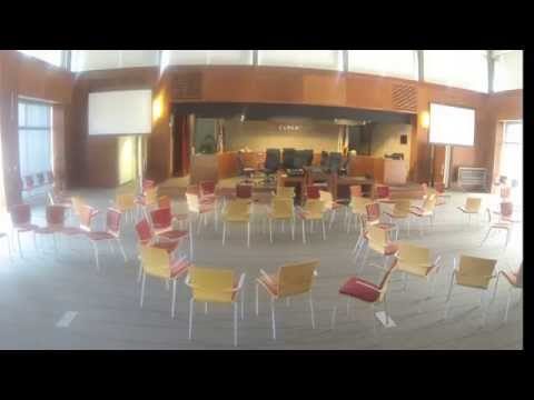 Time-lapse of the Cupertino City Council Room Setup