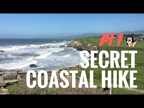 California Coastal Hiking Trail Through Half Moon Bay, Part 1 (Rugged Beauty)