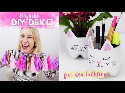 Einfache DIY Deko Ideen für den Frühling im Pinterest Style selber machen