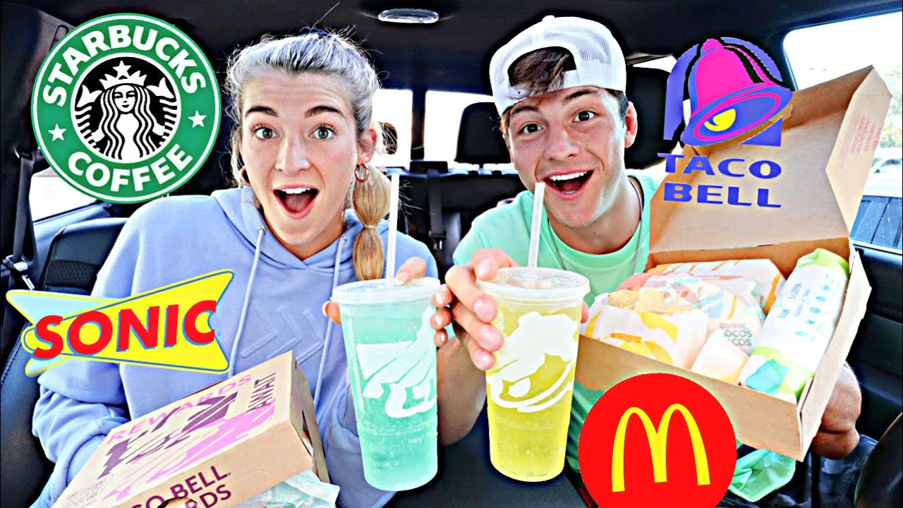 Download Letting Fast Food Employees DECIDE What We Eat for 24 HOURS (IMPOSSIBLE FOOD CHALLENGE)