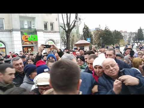 Новини Тернополя 20 хвилин: Президент у Тернополі фотографувався з людьми
