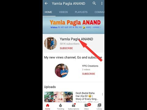 How much money does Yamla Pagla ANAND channel earn from YouTube ll Video-2020ll Mir'sWork