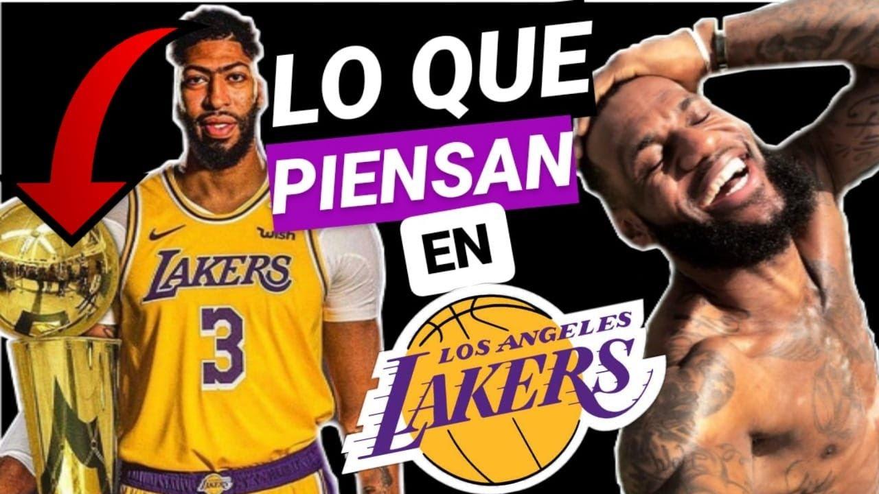 😱 LAS TREMENDAS PALABRAS de ANTHONY DAVIS sobre LeBron JAMES y LAKERS!!! 🔥 NBA