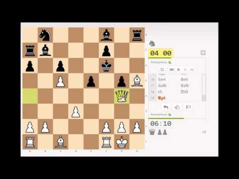 Игра в шахматы со случайным игроком
