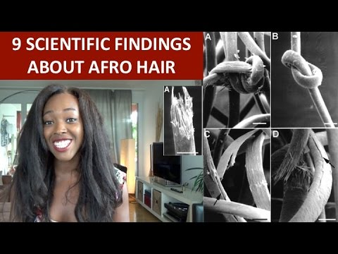 WHAT DOES SCIENCE SAY ABOUT AFRO HAIR?