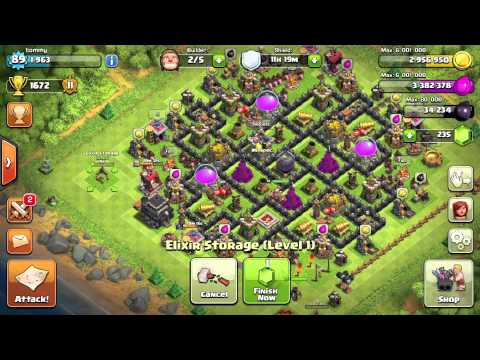 Clash of Clans - Finally TH9!! + Getting Archer Queen, Xbow, 5th Builder & More!!