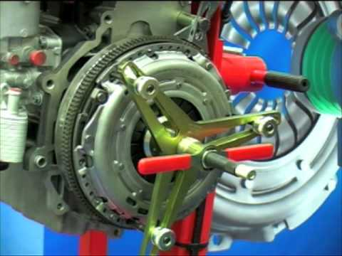 ZF Services Self Adjusting Clutch Fitting Procedure  YouTube