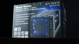 32TB de ALMACENAMIENTO!! ICY Dock Black Vortex analisis en español