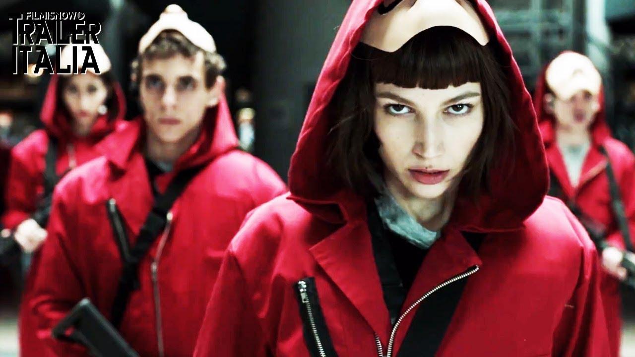 La Casa Di Carta Trailer Ufficiale Della Serie Thriller Netflix