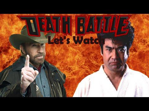 Let's Watch DEATH BATTLE: Chuck Norris Vs Segata Sanshiro