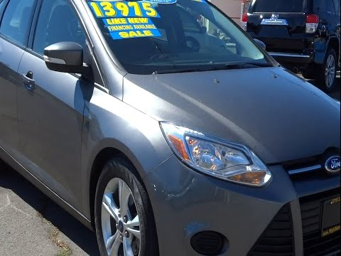 2014 Ford Focus Reno, Sparks, Sierra Valley, Northern Nevada, Carson Valley, NV P2054