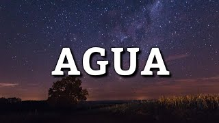J Balvin x Tainy - Agua (Letra) (From Sponge On The Run)