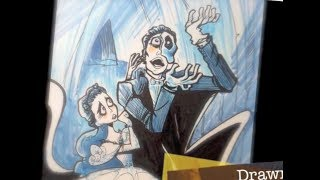 How to Draw The Phantom of the Opera by Jim McGee