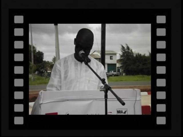 Inauguration du site provisoire de BANJUL en GAMBIE.