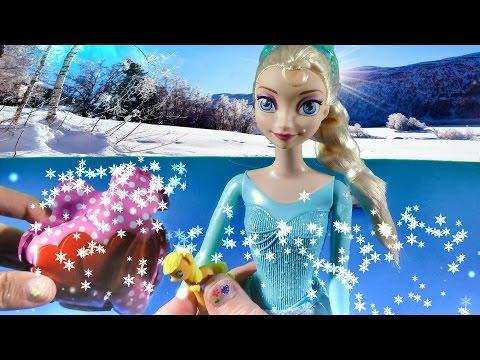 Disney Frozen Queen Elsa Doll Open Easter Eggs Surprise Blind Bags My Little Pony Review MLP Sparkle